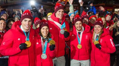 Swiss Medalists PyeongChang 2018
